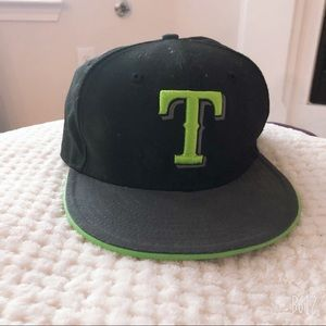 NEW ERA TX RANGERS NIGHT MOVES 59FIFTY FITTED CAP